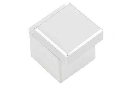 Ritto Knob - White Gloss