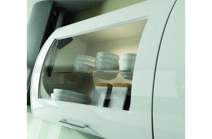 Bella Horizontal Glazed Curved Doors