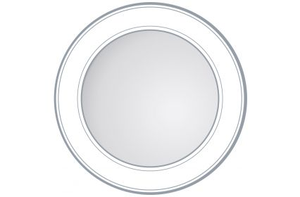 Unique Round Profiled Edge Mirror