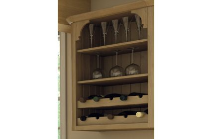 Wilton Wine Rack Rail