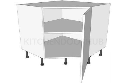 Corner Kitchen Base Units Diagonal