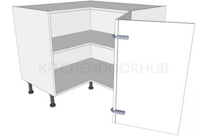 Corner Kitchen Base Unit 'L' Shape - Bi-fold