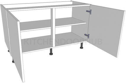 Low Level Kitchen Base Unit - Double