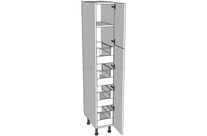 Low Storage Unit (1825mm) - 4 Internal Drawers