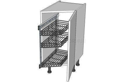 Angled Kitchen Base Storage Units - Highline
