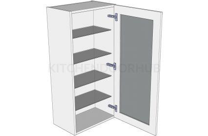 1065mm High Glazed Dresser Unit - No drawer