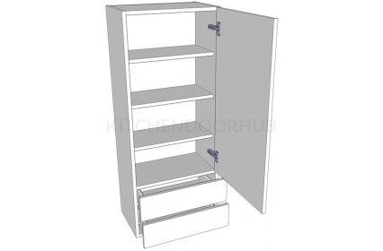 1210mm High Solid Door Dresser - Single
