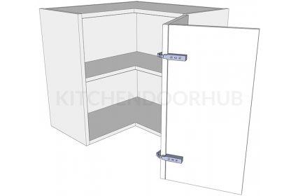 Corner Kitchen Wall Unit 'L' Shape Low