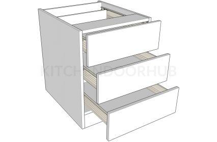 Bedside Cabinets 3 Drawer - Medium