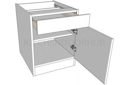 Drawerline Bedside Cabinet - Medium