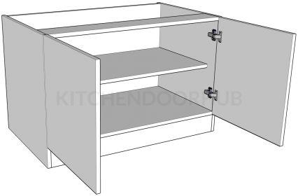Double Highline Bedside Cabinet - Medium
