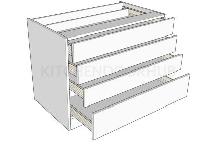 Standard Height 4 Drawer Bedroom Unit A