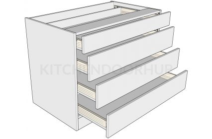 Standard Height 4 Drawer Bedroom Unit B