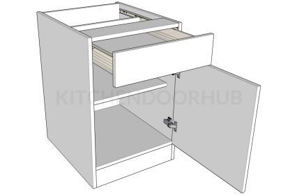 Standard Height Single Drawerline Bedroom Units