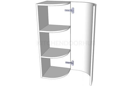 Curved Quad Style Wall - Tall
