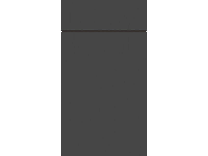 Zurfiz Supermatt Graphite Kitchen Doors Kdh