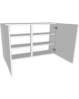 Medium (720mm high) Double Kitchen Wall Unit