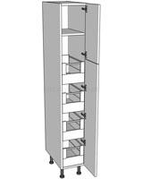Low Storage Unit (1825mm) - 4 Internal Drawers