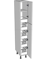 Medium Storage Unit (1970mm) - 5 Internal Drawers
