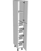 Tall Storage Unit (2150mm) - 4 Internal Drawers