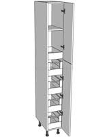 Tall Storage Unit (2150mm) - 5 Internal Drawers