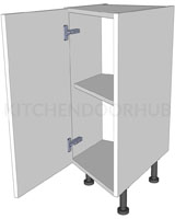 Angled Kitchen Base Units - Highline