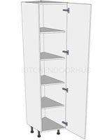 Angled Tall Storage Unit 2150h