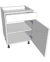 Drawerline Kitchen Base Unit - Single