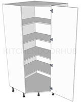 Diagonal Low Storage Unit 1825h