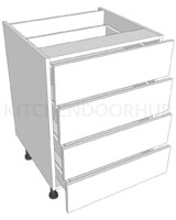 4 Drawer Base Unit