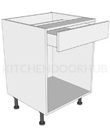 Open Kitchen Base Unit - Drawerline