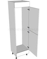 2150mm High Fridge Freezer Housing - A