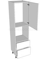2150mm High Oven Housing - B