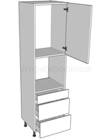 2150mm High Oven Housing - H