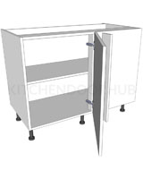 Variable Corner Kitchen Base Unit Highline