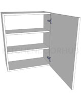 Medium (720mm high) Single Kitchen Wall Unit