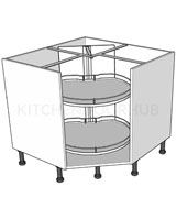 Corner Carousel Base Units - Turnmotion