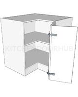 Standard Height Corner L Bedroom Units - Bi-fold