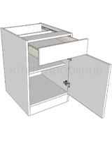 Standard Height Single Drawerline Bedroom Units