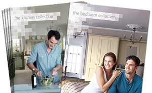 Kitchen and bedroom brochures