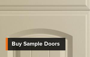 Sample kitchen door