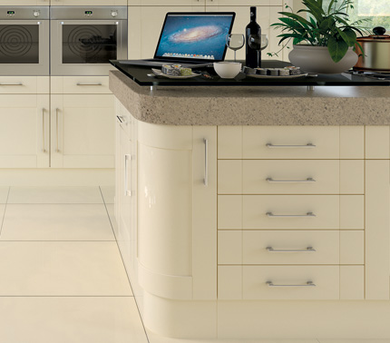Pronto Ludlow gloss kitchen accessories