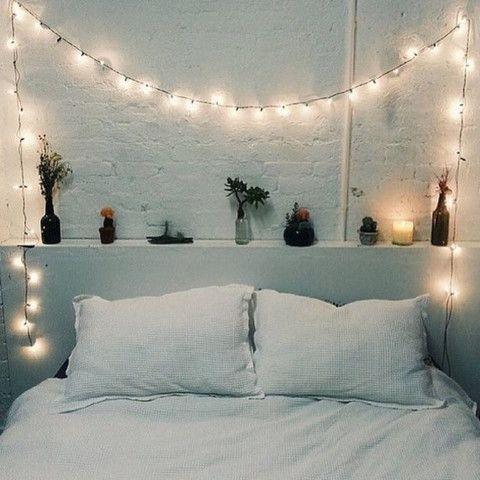 Bedroom fairy lights DIY tips