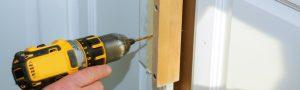 Putting handles on a wardrobe