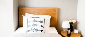 Maximising space in a small bedroom